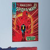 adesivo-de-parede-the-amazing-spider-man-capa-historia-em-quadrinho-roommates