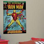 adesivo-de-parede-iron-man-capa-historia-em-quadrinho-roommates
