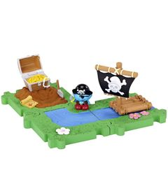 Micro-Vila-dos-Smurfs---Smurf-Pirata---Sunny