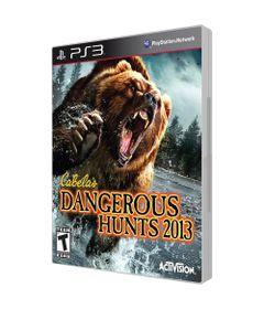 Jogo-PS3-Dangerous-Hunts-2013