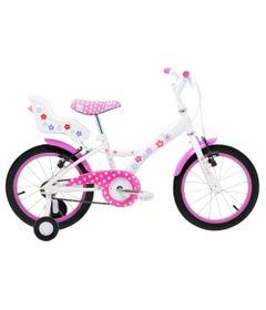 Bicicleta-Aro-16---Aco-My-Bike-Branca-com-Porta-Boneca-e-Pneus-Pretos---Tito-Bikes