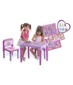 Mesa-Infantil-com-Cadeiras-da-Princesinha-Sofia---Multibrink
