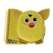 Caderno-com-Espiral-Medio-do-Furby---Amarelo---Conthey
