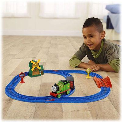 BGL97-BGM69-Ferrovia-Thomas-e-Friends-Percy-e-o-Moinho-de-Vento-Fisher-Price