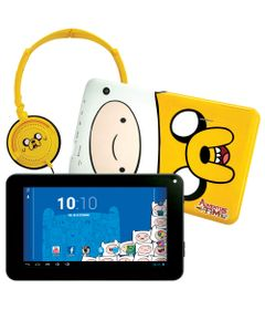 Tablet-Android-4.2-Adventure-Time-com-Headphone---Tela-7-Multi-Touch-e-Memoria-Interna-8GB---Candide