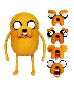 Boneco-Adventure-Time-Deluxe---Jake-Troca-Faces---25-cm---Multikids