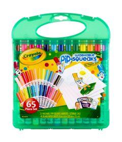 04-5227-Maleta-Canetinhas-Lavaveis-Pip-Squeaks-Washable-25-Cores-Crayola