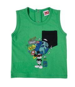 21494-Camiseta-Mickey---Meia-Malha-Verde---Disney