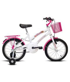Bicicleta-Breeze---Aro-16---Branco-e-Pink---Verden-Bikes