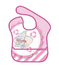 Babador-com-Bolso-Frontal---Dumbo---Disney---Girotondo-Baby