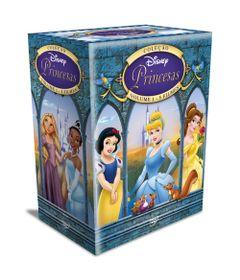 DVDs---Colecao-Disney-Princesas---Volume-1---5-Filmes