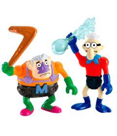 Mini-Figuras-Bob-Esponja---Homem-Sereia-e-Mexilhaozinho---Imaginext---Fisher-Price
