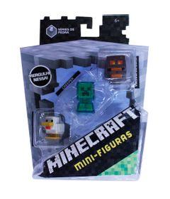 Figuras-Minecraf---Pack-com-3---Serie-9---Mattel