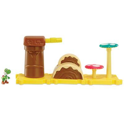 5026419-3526-Playset-Micro-Land-World-Of-Nintendo-Leyer-Cake-Desert-Yoshi-DTC