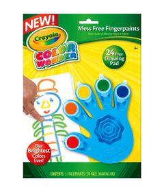 Pintura-de-Dedo---Color-Wonder-5-Cores---Azul---Crayola