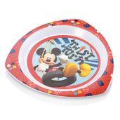 Prato-Raso-de-Microondas---Mickey-Mouse---Multikids-Baby