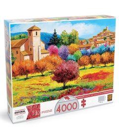 Quebra-Cabeca---Verao-em-Loumarin---4000-Pecas---Grow