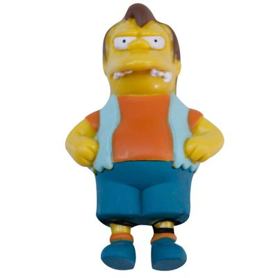 Mini-Figura---Os-Simpsons---5-cm---Nelson---Multikids