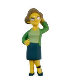 Mini-Figura---Os-Simpsons---5-cm---Edna-Krabappel---Multikids