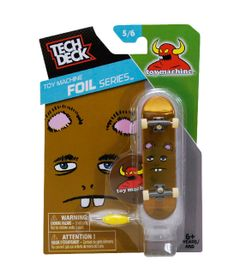 Skate-de-Dedo-Tech-Deck-Toy-Machine-5-6-Foil-Series-Multikids