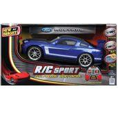 Carro-de-Controle-Remoto---Mustang---Azul---1-24---27MHz---Yes-Toys