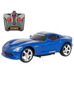 Carro-de-Controle-Remoto---Viper-SRT-10---Azul-e-Prata---1-24---27MHz---Yes-Toys
