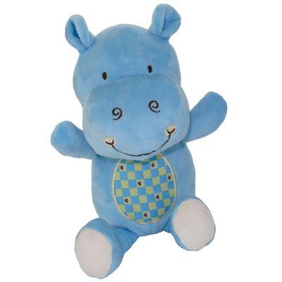Pelucia-Hipo-Feliz---Xadrez---25-cm---Bee-Me-Toys