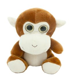 Pelucia-Animais-Selvagens-Visionarios---Macaco---20-cm---Bee-Me-Toys