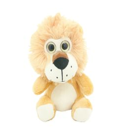 Pelucia-Animais-Selvagens-Visionarios---Leao---20-cm---Bee-Me-Toys