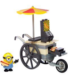 Playset-Mega-Bloks---Minions---Flying-Hot-Dogs---Mattel