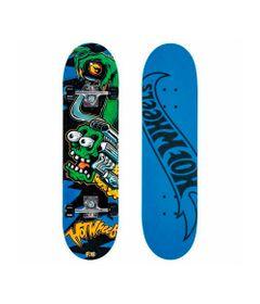 Skate-com-Acessorios-Hot-Wheels---Motor-Green---Fun