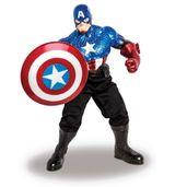Boneco-Avengers-Premium-Gigante---Capitao-America-com-Calca-Preta---Mimo