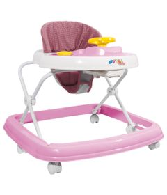 Andador---Branco-e-Rosa---Styll-Baby