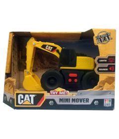 Trator-Caterpillar---Mini-Mover---Escavadeira-de-Braco-Frontal-com-Pa---DTC