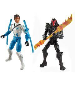 Pack-2-Figuras-Articuladas-com-Acessorios---Max-Steel---Max-Steel-Samurai-Vs-Dread---Mattel