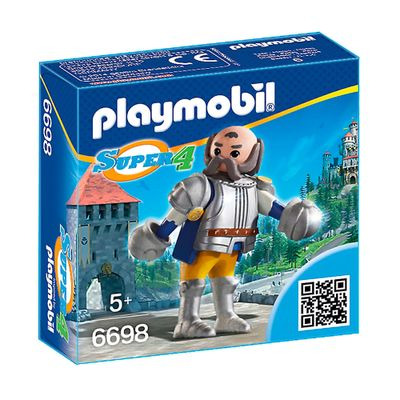 Figura-com-Acessorios-Playmobil---Serie-Super-4---Guardiao-Real-Sir-Ulf---6698