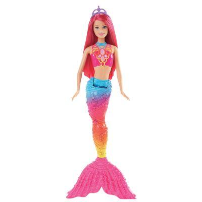 Boneca-Barbie-Reino-Magico---Sereia-do-Reino-dos-Arco-iris---Mattel