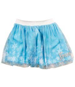 Saia-de-Tule-com-Elastico-de-Lurex---Azul---Frozen---Disney---1