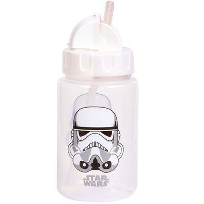 Copo-com-Canudo-Retratil---Personagens-Disney-Star-Wars---Stormtrooper---340Ml---BabyGo
