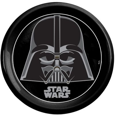 Prato-Plastico-Decorado---Personagens-Disney-Star-Wars---Darth-Vader---BabyGo