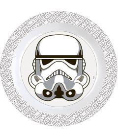 Prato-Plastico-Decorado---Personagens-Disney-Star-Wars---Stormtrooper---BabyGo