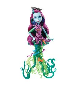 Boneca-Monster-High---A-Assustadora-Barreira-de-Corais---Posea-Reef---Mattel