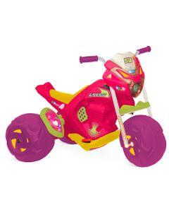 Triciclo-Eletrico---Supercross-Rosa---6V---Bandeirante