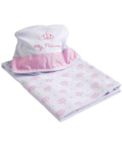 Toalha-em-Suedine-com-Capuz---My-Princess---Rosa---Belmar