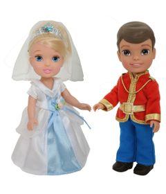 Pack-2-Bonecas---Disney-My-First-Princess---Casais-Encantados---Cinderela-e-Principe-Henry---New-Toys