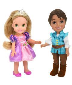 Pack-2-Bonecas---Disney-My-First-Princess---Casais-Encantados---Rapunzel-e-Flynn-Rider---New-Toys