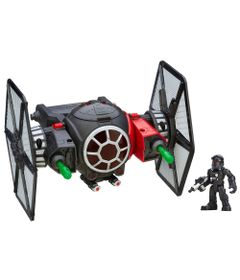 Veiculo-e-Figura-Playskool---Disney-Star-Wars---Tie-Fighter-e-Piloto---Hasbro