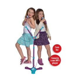 Base-com-Microfone-Duplo---Karaoke-Disney-Frozen---Toyng