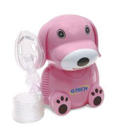 Inalador-e-Nebulizador---NebDog---Rosa---G-Tech