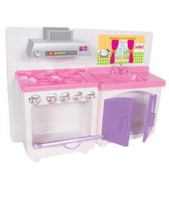 Playset-para-Bonecas---Conjunto-Cozinha-Cristal---Lua-de-Cristal